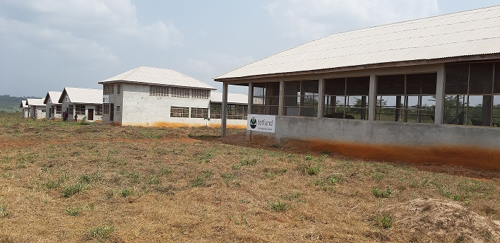 Construction of school of agriculture